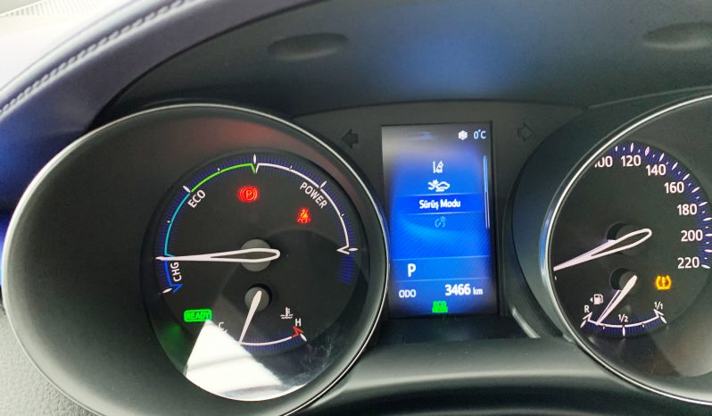 2018 TOYOTA C-HR 1.8 DYNAMIC HYBRİD 3.000 KM'de full