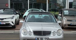 2002 MODEL E 320 MERCEDES-BENZ AVANTGARDE 284.000 KM'DE TEMİZ